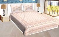 Bed sheet Bedding Set king Size 100% cotton Bedspreads Golden Printed