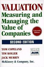 Valuation: Measuring and Managing the Value of Companies Frontiers in Finance S