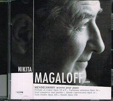 CD album: Mendelssohn: Nikita Magaloff. Oeuvres pour Piano. Accord. K