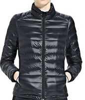 PACKABLE LADIES BLACK WINTER JACKET DOWN PUFFA PADDED LIGHT 6 8 10 12 14 XS S M