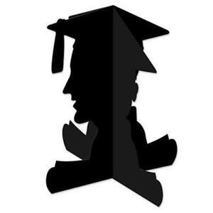 Graduation 3-D Boy Graduate 11-Inch Centerpiece Paper Graduation Decoration