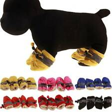 Winter Shoes for Pet Dog Anti-slip Rain Snow Boots Puppy Dog Socks Warm Booties