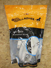 """Gallagher ELECTRIC FENCE 1 1/2"""" TAPE GATE - Livestock Horses NEW"""