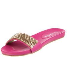 Markenlose Damen-Sandalen & -Badeschuhe mit flachem Größe 37
