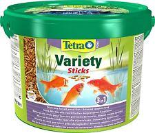 Tetra Pond Variety Sticks 4l 25 (5l) Koi Fish Food Diet TetraPond 3 in 1