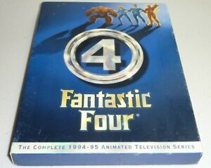 Fantastic Four The Complete 1994-1995 Animated TV Series 4-Disc box DVD Set