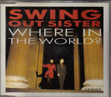 Swing Out Sister-Where In the World cd maxi single
