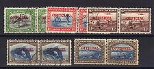 S.W.A.1951 OFFICIALS SET SG O23-O27 FINE USED.