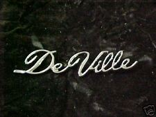 1965 1966 1967 Cadillac Convertible DeVille 1/4 Script