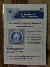 Assured Shorthold Tenancy Agreement For Letting A Furnished Property + Notes
