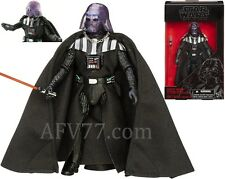 "Hasbro Star Wars BLACK Force Awakens 6"" DARTH VADER Emperor's Wrath Exclusive"