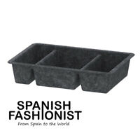 IKEA RAGGISAR BOX STORAGE Tray, dark grey, 20x30 cm