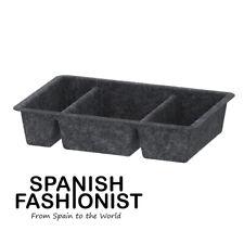 IKEA RAGGISAR BOX STORAGE Tray, dark grey, 20x30 cm