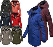 Navahoo Damen Winterjacke Outdoor jacke Steppjacke Parka winter Mantel Avrille