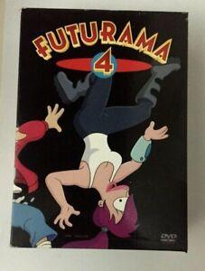 FUTURAMA LA QUARTA STAGIONE COMPLETA COFANETTO 4 DVD BUONE CONDIZIONI - EW