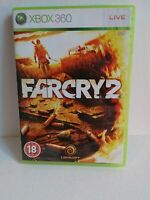 Far Cry 2 (Microsoft Xbox 360, 2008) With Manual And Map