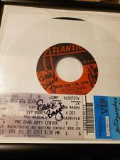 Rascals How Can I Be Sure Signed 45 record and ticket