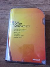 Microsoft Office Standard 2007 UK Retail Boxed DVD (1 USER PC)