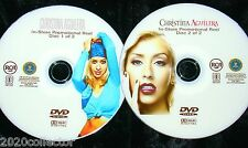 CHRISTINA AGUILERA In-Store Promotional Reel 2 DVD Set with 38 Music Videos Tied