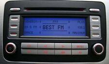 VW RCD 300 SILVER EDITION VW GOLF CADDY PASSAT TOURAN EOS Original Autoradio CD