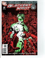 BLACKEST NIGHT #2 2ND PRINT Green Lantern red and green variant