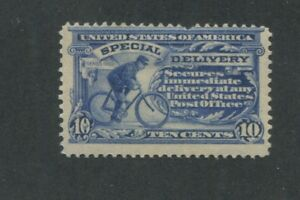 1911 US Special Deliver Stamp #E8 Mint Hinged Average Original Gum