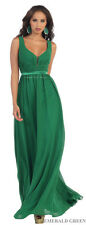 NEW BRIDESMAIDS LONG DRESS SPECIAL OCCASION PROM EVENING FORMAL GOWN & PLUS SIZE