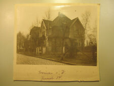~1910 altes Foto Gronau i. Westfalen Haus Strasse benannt / Münsterland