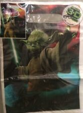 """New Hallmark Star Wars 3D Effect 9"""" x 6.5"""" Party Favor Treat Bags - 8 pc. - NWT"""