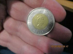Collector 1996 Canadian 2 Dollar Coin Great SHape