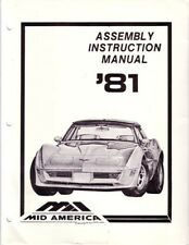 repair manuals literature for chevrolet corvette ebay rh ebay com Instruction Manual Example Instruction Manual Example