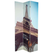 Eco-Friendly 3 Panel Room Divider With Paris Print 180H x 120W **FREE DELIVERY**