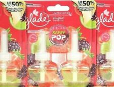 Glade PlugIns 1.34 Oz Berry Pop 50% Longer Last Frag 2 Ct Scented Oil Refill