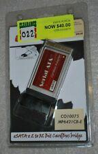 Condor eSata Pcmcia card 2 port 32 bit Mp6421Cb-E Co10075