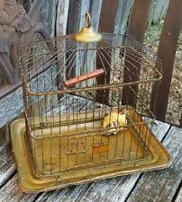 1880's Victorian Petite Copper Hendryx Antique Birdcage * Massachusetts Pickup