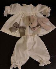 Puppenmode von Orchidee-Puppen Kleid-Set 4 Teile 48-50cm