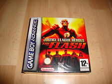 JUSTICE LEAGUE HEROES THE FLASH PARA LA NINTENDO GAME BOY ADVANCE GBA NUEVO
