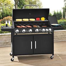 BBQ Grillwagen Gasgrill California Edelstahl Barbecue Garten Grillen broilcue®