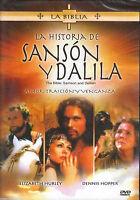 La Historia De Sanson y Dalila DVD NEW La Biblia BRAND NEW