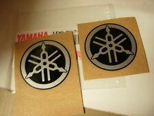 Yamaha diapasones pegatinas 44mm emblema dt rd yzf FJ FZR XT Sr XJ XV TDM TZR