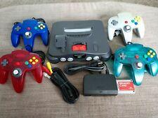 Nintendo 64 Charcoal Grey Console Bundle