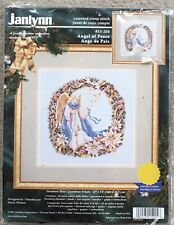 Janlynn Counted Cross Stitch Kit 15-204 Angel Of Peace