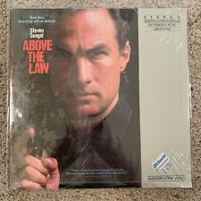 Above The Law Laserdisc - Steven Seagal