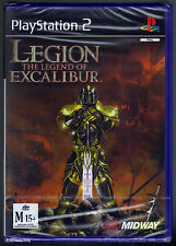 PS2 Legion the Legend of Excalibur (2002), UK Pal, M15+, New & Factory Sealed