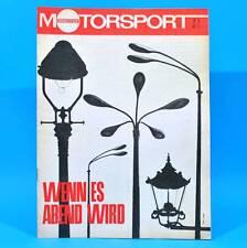 DDR Illustrierter Motorsport IMS 7/1967 daf 44 Simca 1301/1501 MC Schwedt B
