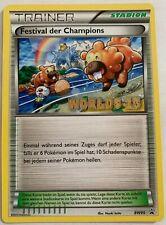 Pokemon Festival Der Champions (Champions Festival) Worlds 2013 Promo BW95 NM