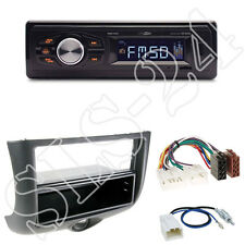 Caliber RMD022 orange Radio +Toyota Yaris 04/99-02/03  Blende black +ISO Adapter