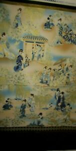 """R.KAUFMAN#18621"""" Japanese Garden"""", Imperial Collection  ,100%cotton Fabric BTY"""