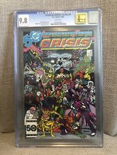 Crisis On Infinite Earths #9 CGC 9.8 White Pages