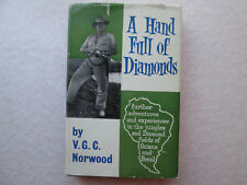 A HAND FULL OF DIAMONDS by Victor G. C. Norwood 1960 HCDJ Handful 1st Edition